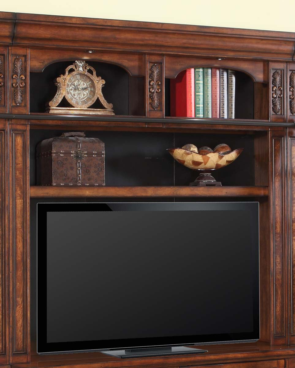 Parker House Leonardo 60in Bookcase TV Hutch