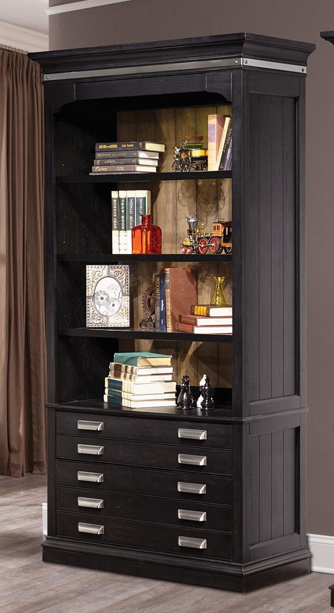 Parker House Lincoln Park 40-inch Open Bookcase - Vintage Ash