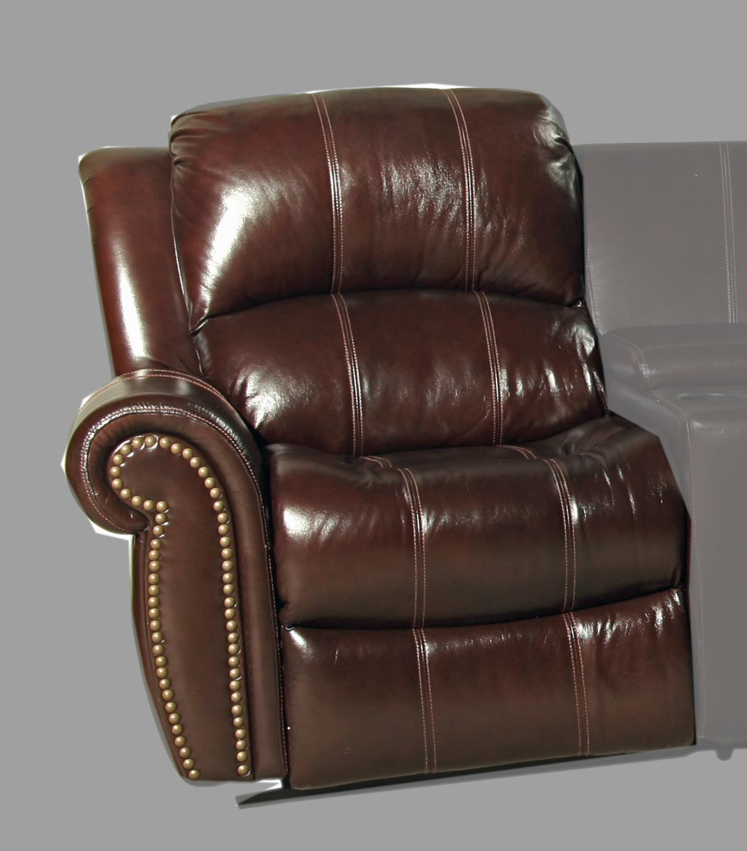 Parker House Poseidon Sectional Sofa Set Cocoa Parker