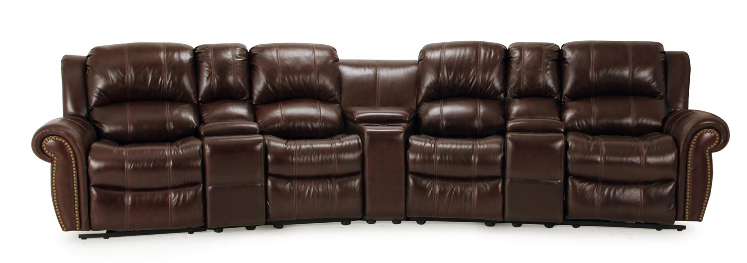 Parker House Poseidon Home Theater Seating Set - Cocoa - Parker Living