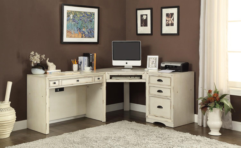 Parker House Nantucket 3 Pc Corner Desk