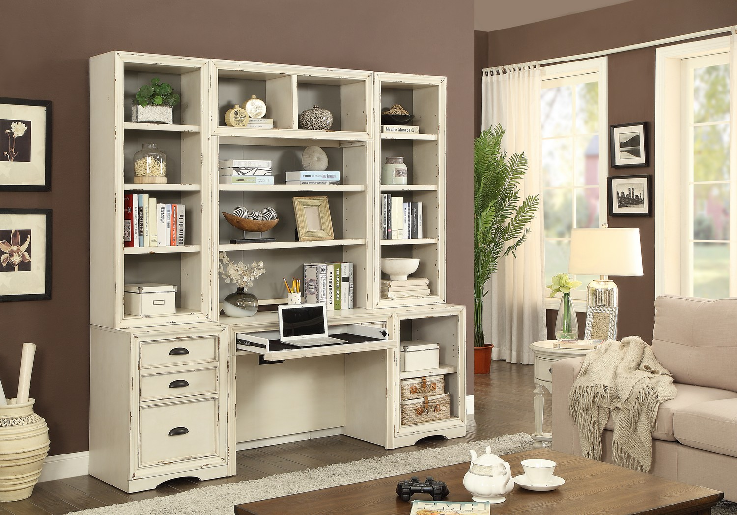 Parker House Nantucket 6PC HOME OFFICE