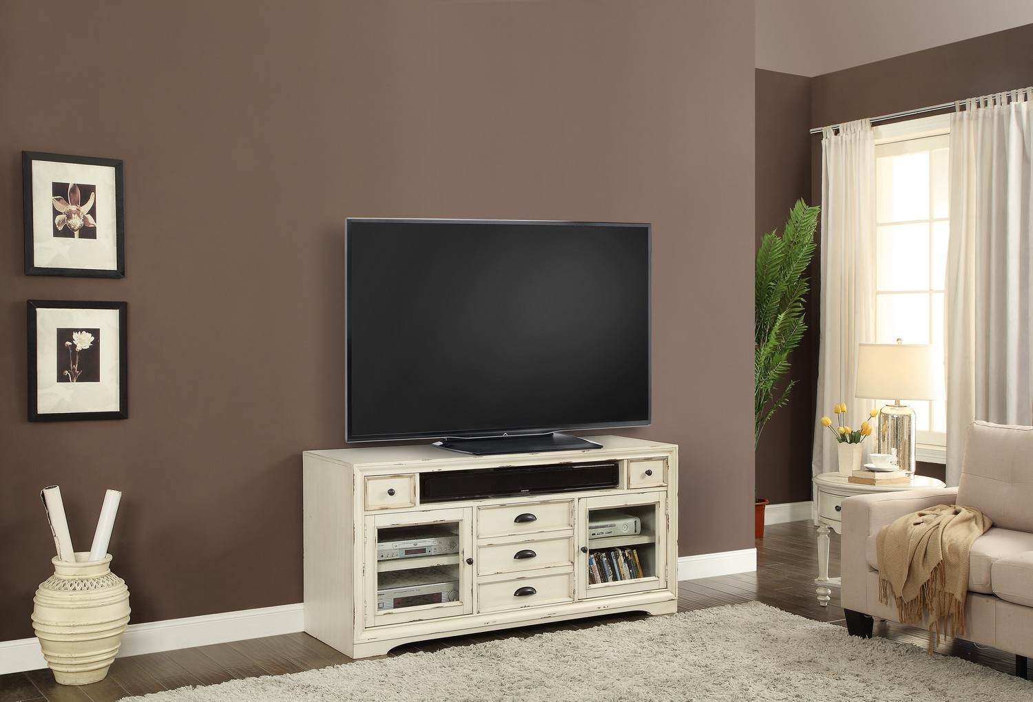 Parker House Nantucket 63-inch TV Console