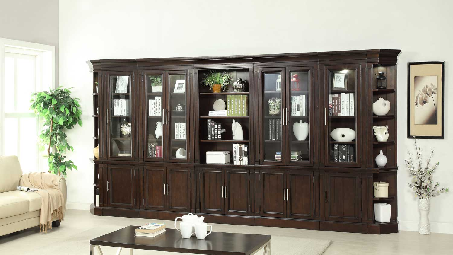 Parker House Stanford Bookcase Wall Unit