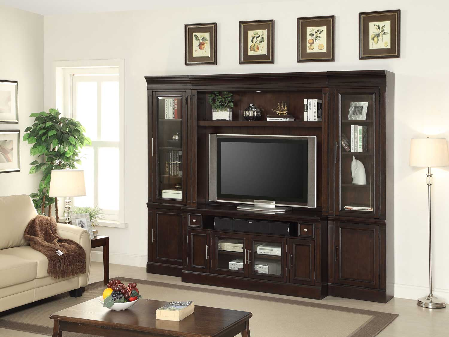 Parker House Stanford Entertainment Wall Unit
