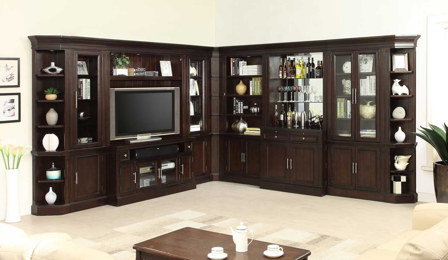 Parker House Stanford Library Wall Bar Set