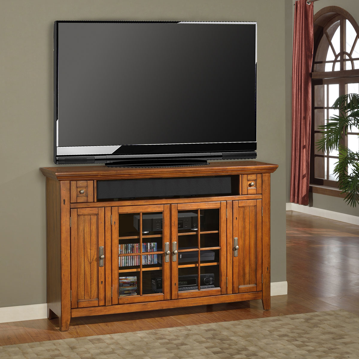Parker house terrace 62in tv console ph ter 62tl at for Terrace house tv