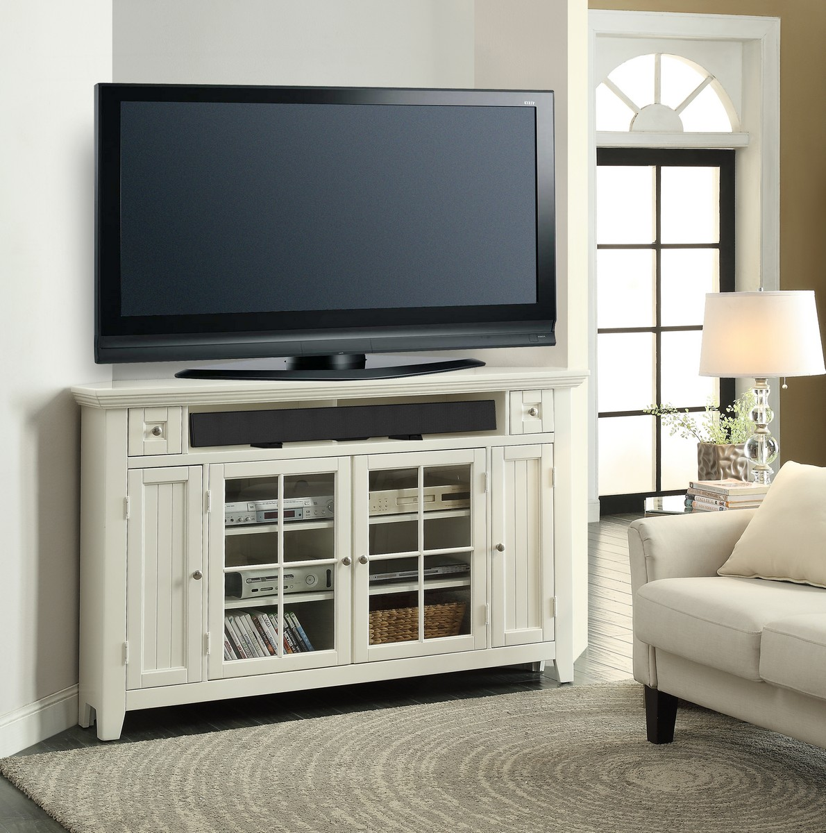 Parker House Tidewater 62in Corner TV Console