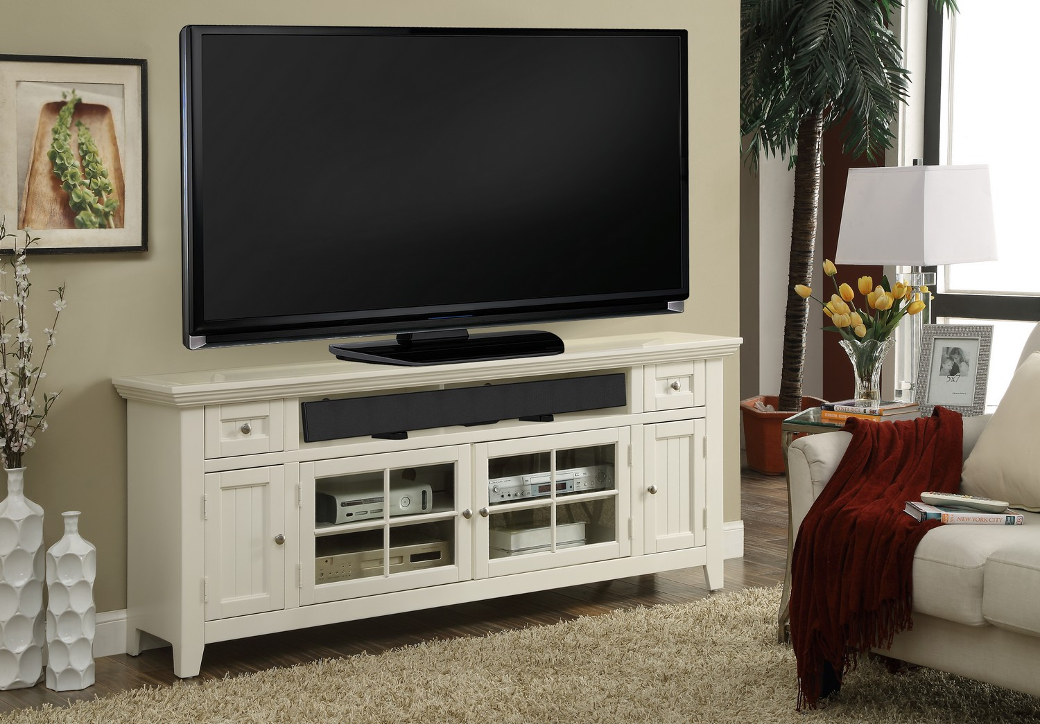 Parker House Tidewater 72in TV Console
