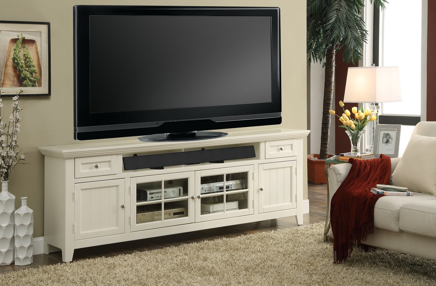 Parker House Tidewater 84in TV Console