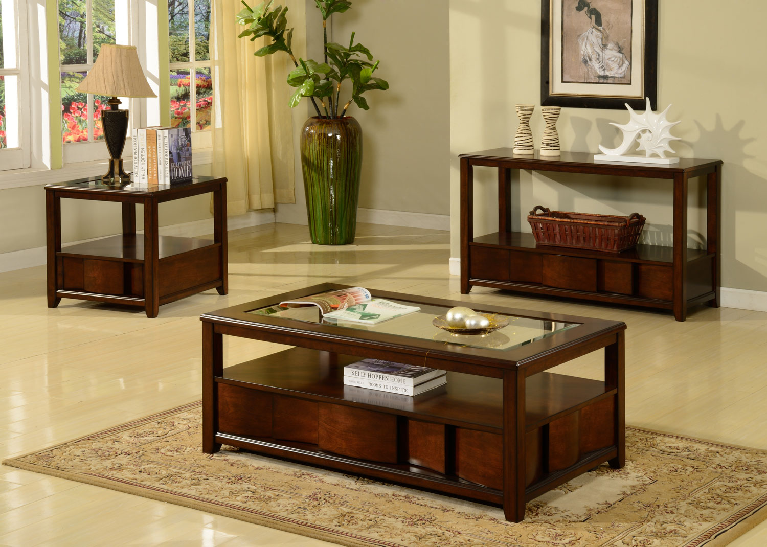 Parker House Oslo Coffee Table Set