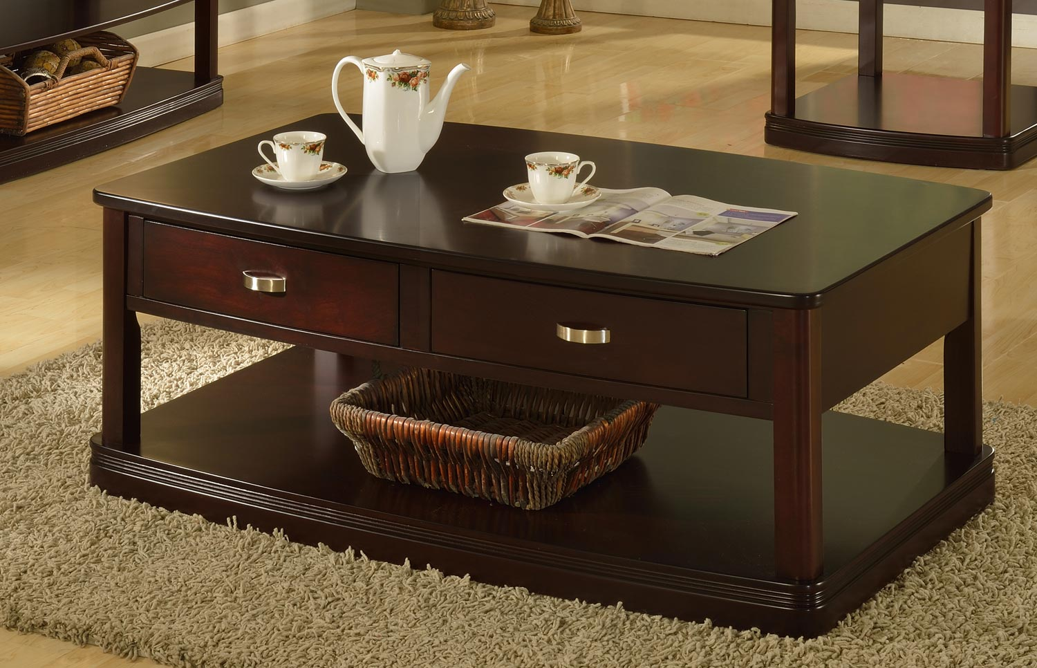 Parker House Premiere Biscayne Coffee Table With Caster