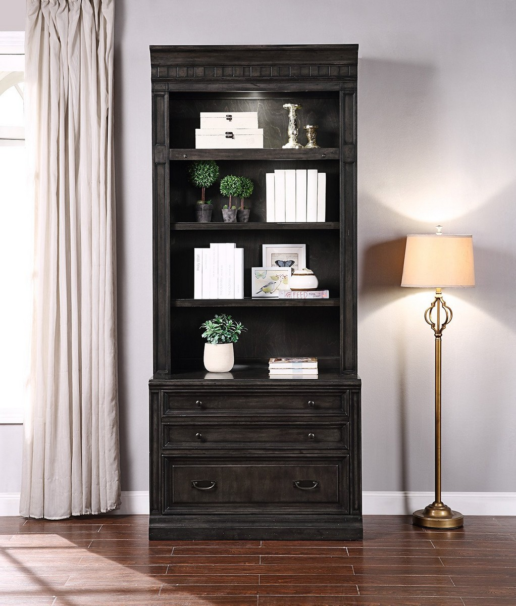 Parker House Washington Heights 2 Drawer Lateral File and Hutch