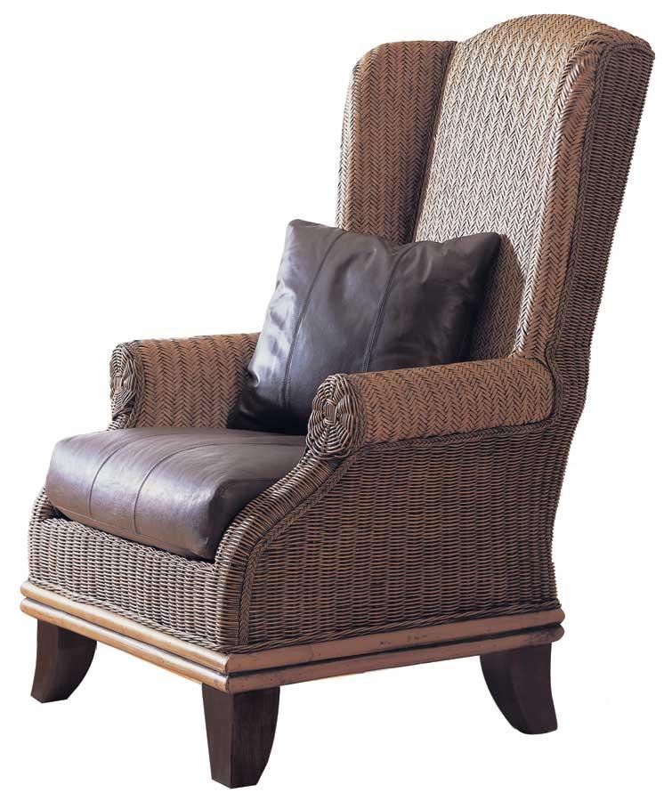 Padma's Plantation Bali Wing Chair