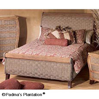 Padma's Plantation Billabong Sleigh Bed