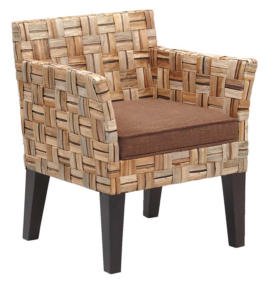 Padma's Plantation Contempo Arm Dining Chair