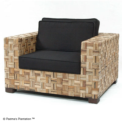 Padma's Plantation Contemporary Chair