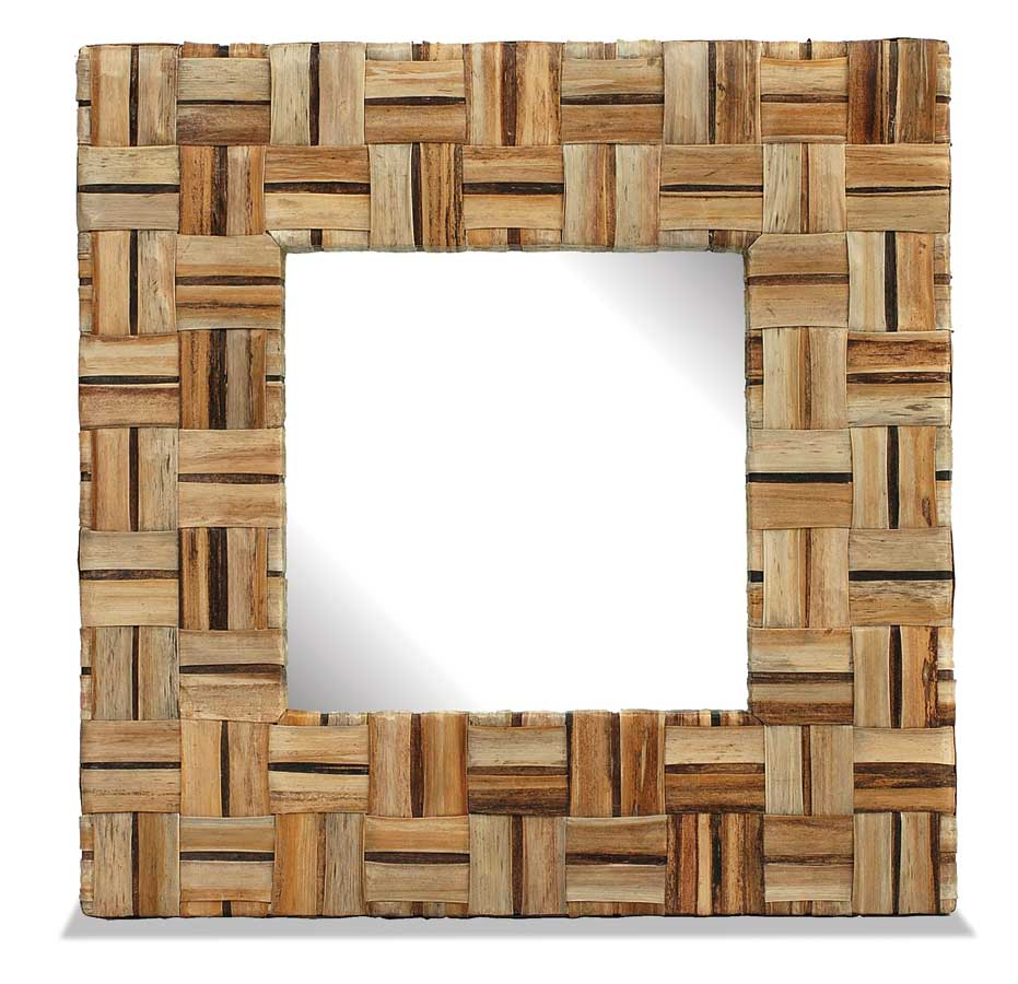 Photo of Contemporary Square Mirror -Padmas Plantation (Accent Furniture, Accent Mirrors, Cheval Mirror, Wall Mirrors)