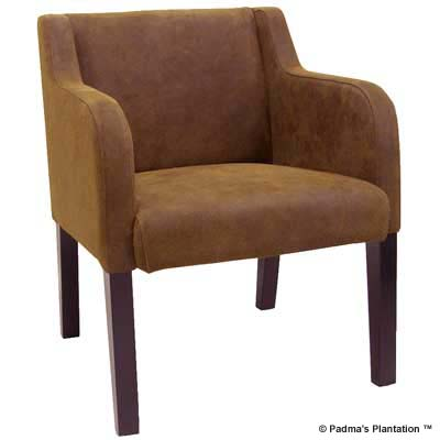 Padma's Plantation Versailles Leather Occasional Chair