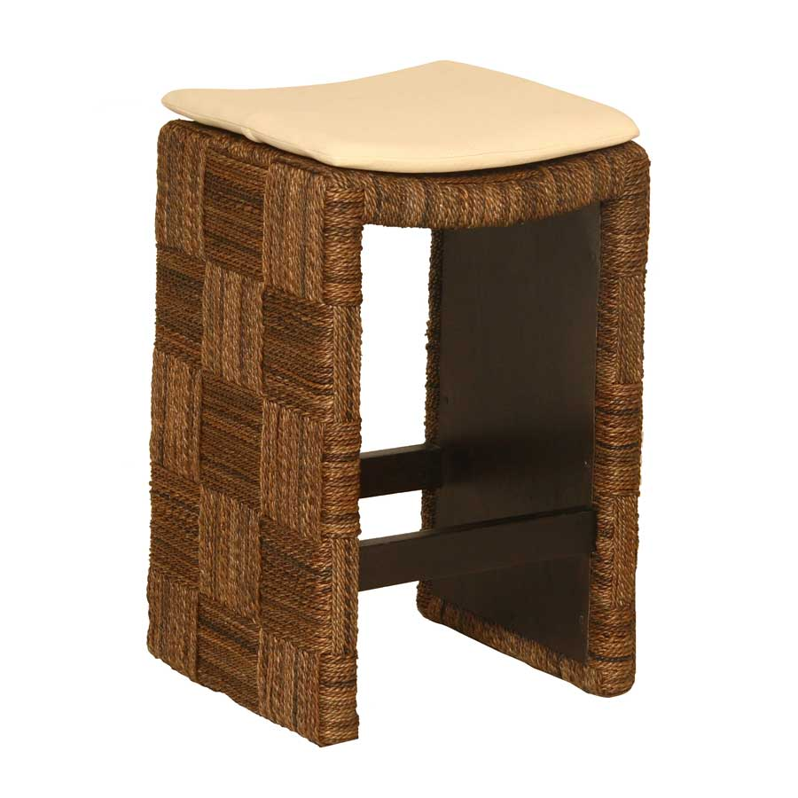 Padma's Plantation Plaid Counter Stool