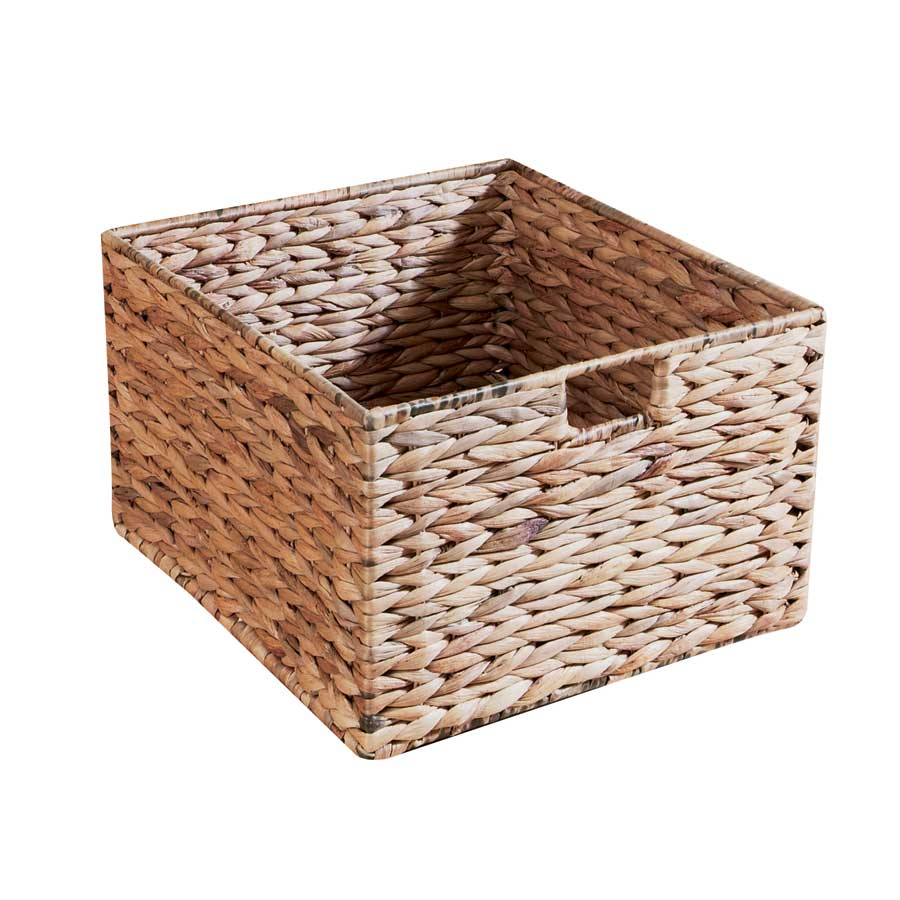 Padma's Plantation Water Hyacinth Storage Basket