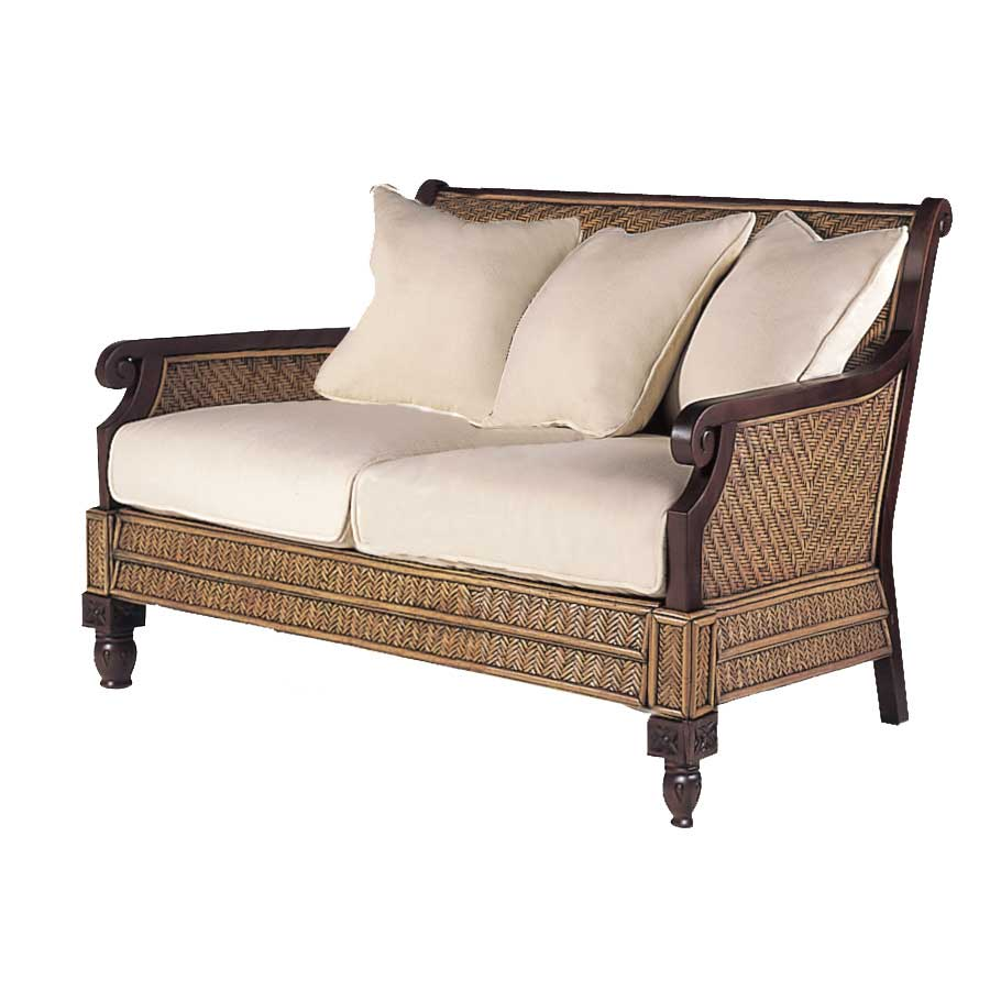 Padma 39 s plantation trinidad loveseat t113 at for Living room furniture trinidad