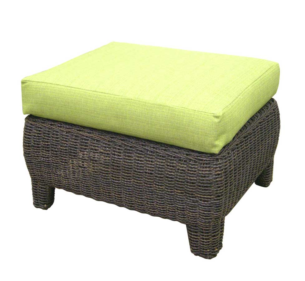 Outdoor Bay Harbor Ottoman-Padmas Plantation