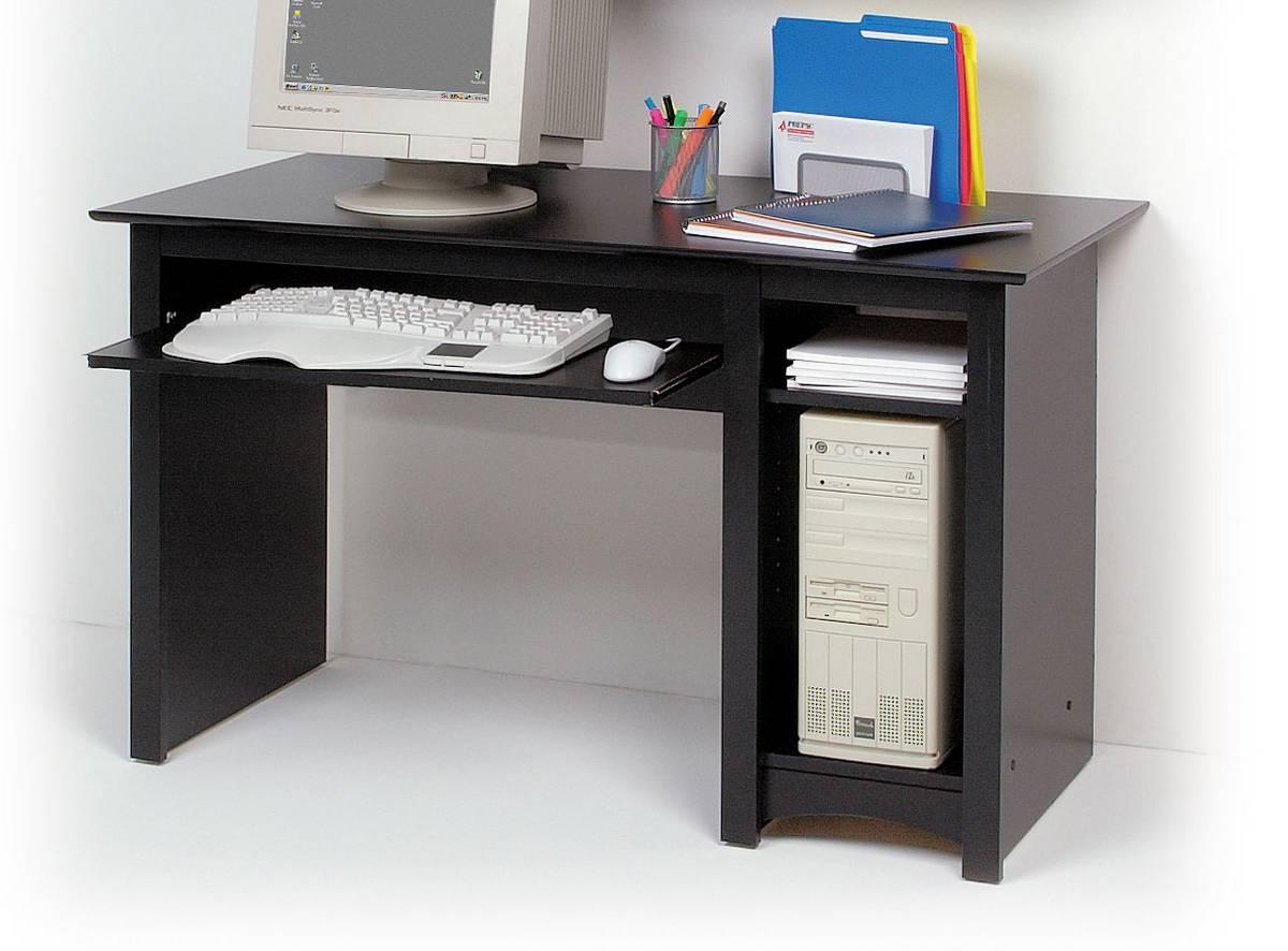 Prepac Black Sonoma Computer Desk