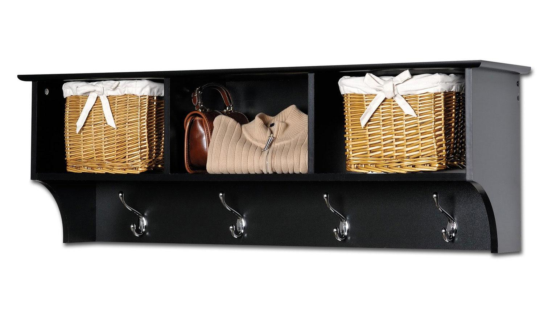 Prepac Sonoma Entryway Cubbie Shelf - Black