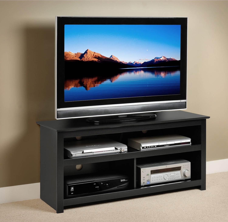 Prepac Vasari Flat Panel Plasma / LCD Console - Black