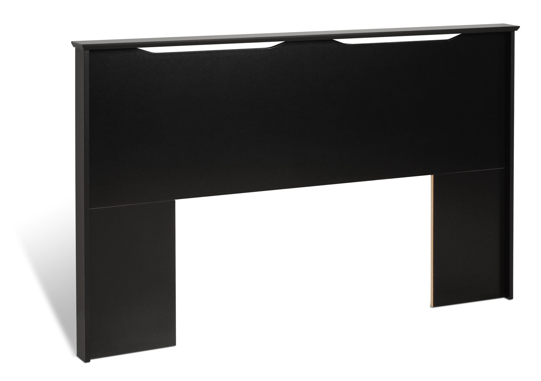 Prepac Coal Harbor Flat Panel Headboard - Black