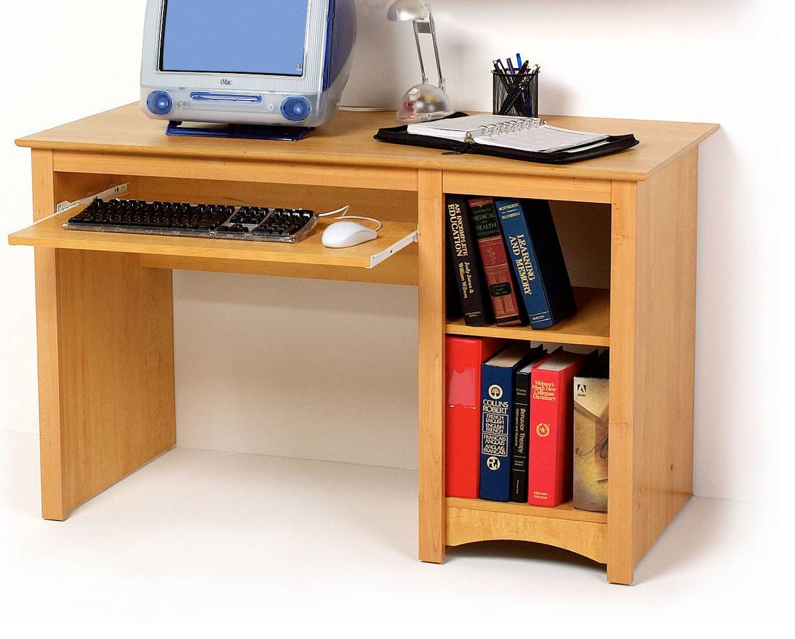 Maple Sonoma Computer Desk - Prepac