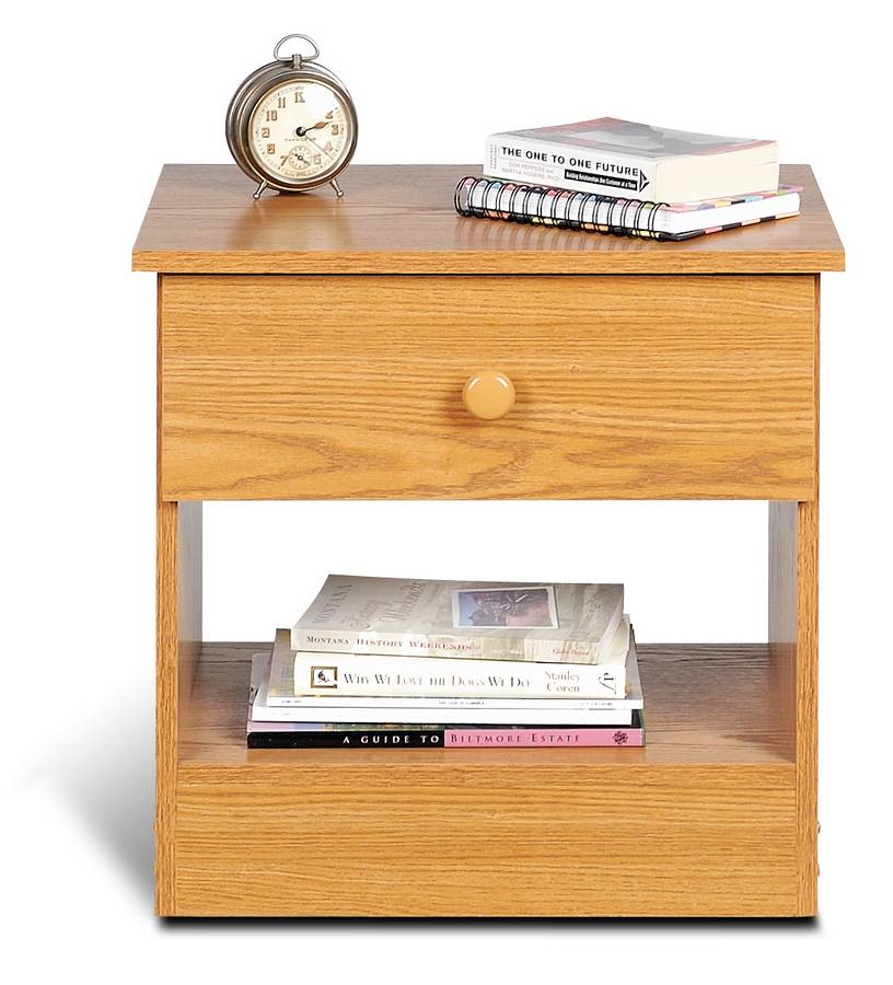 Prepac Oak Night Stand