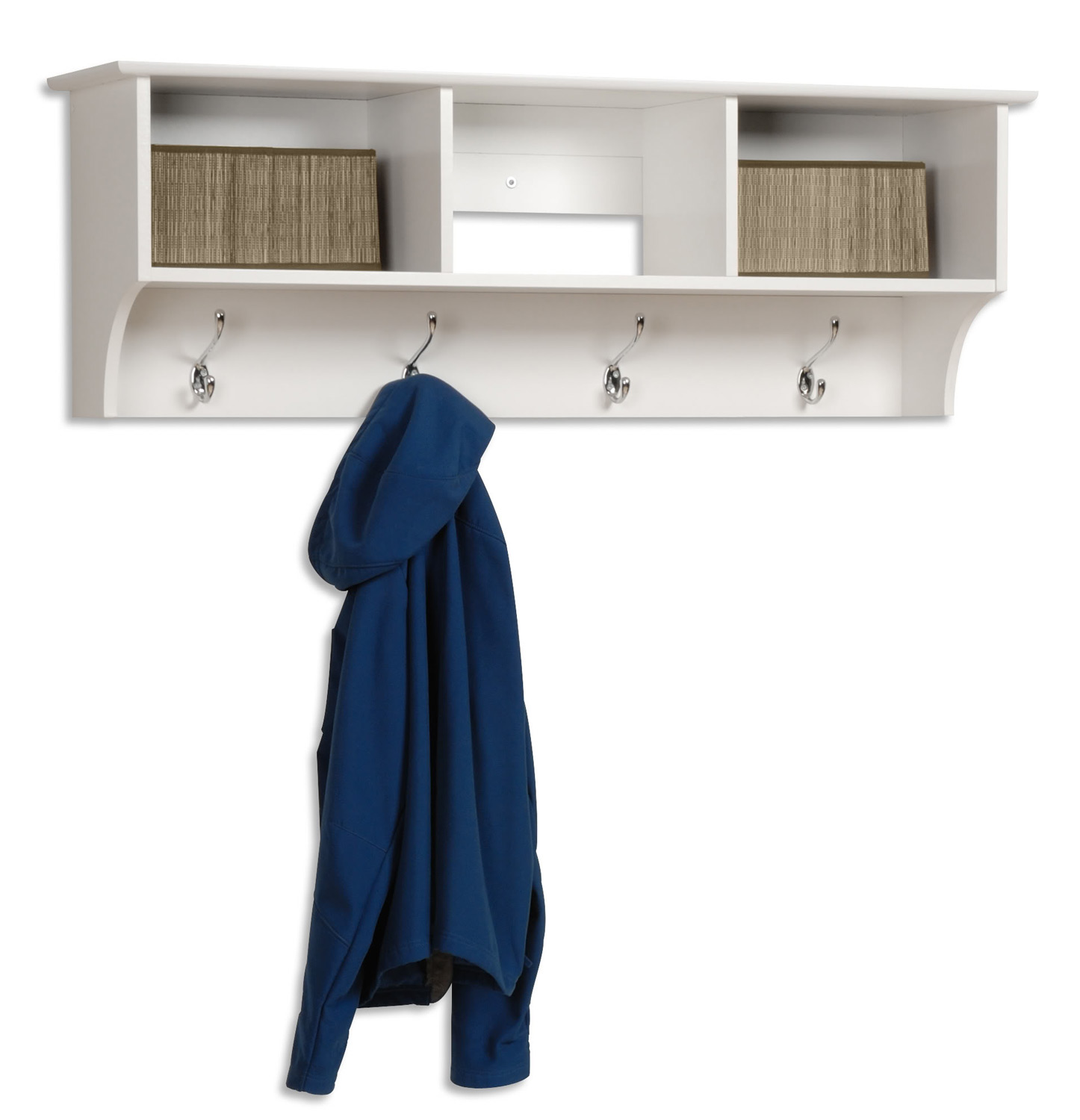 Prepac Sonoma Entryway Cubbie Shelf - White