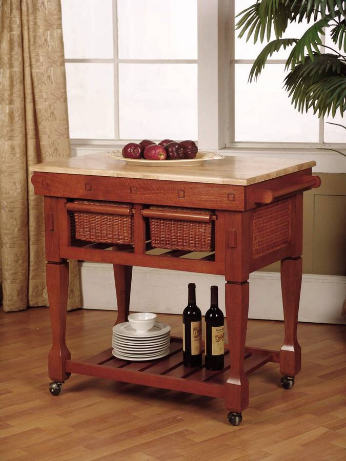 powell walnut kitchen island pw 054 at homelement com powell pennfield kitchen island counter stool beyond stores