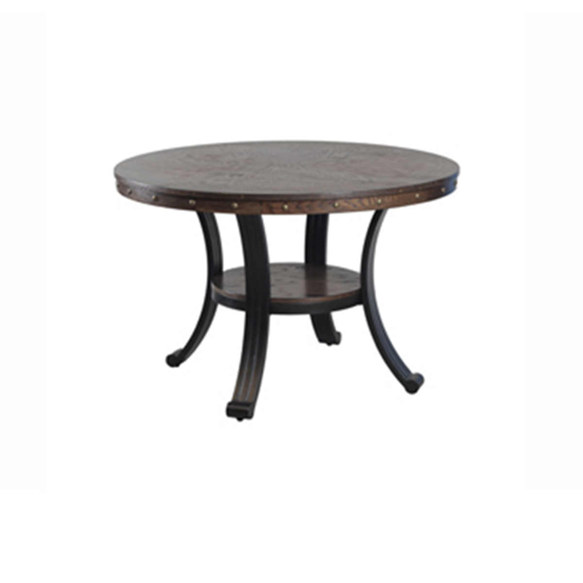 Powell Franklin Dining Table - Rustic Umber