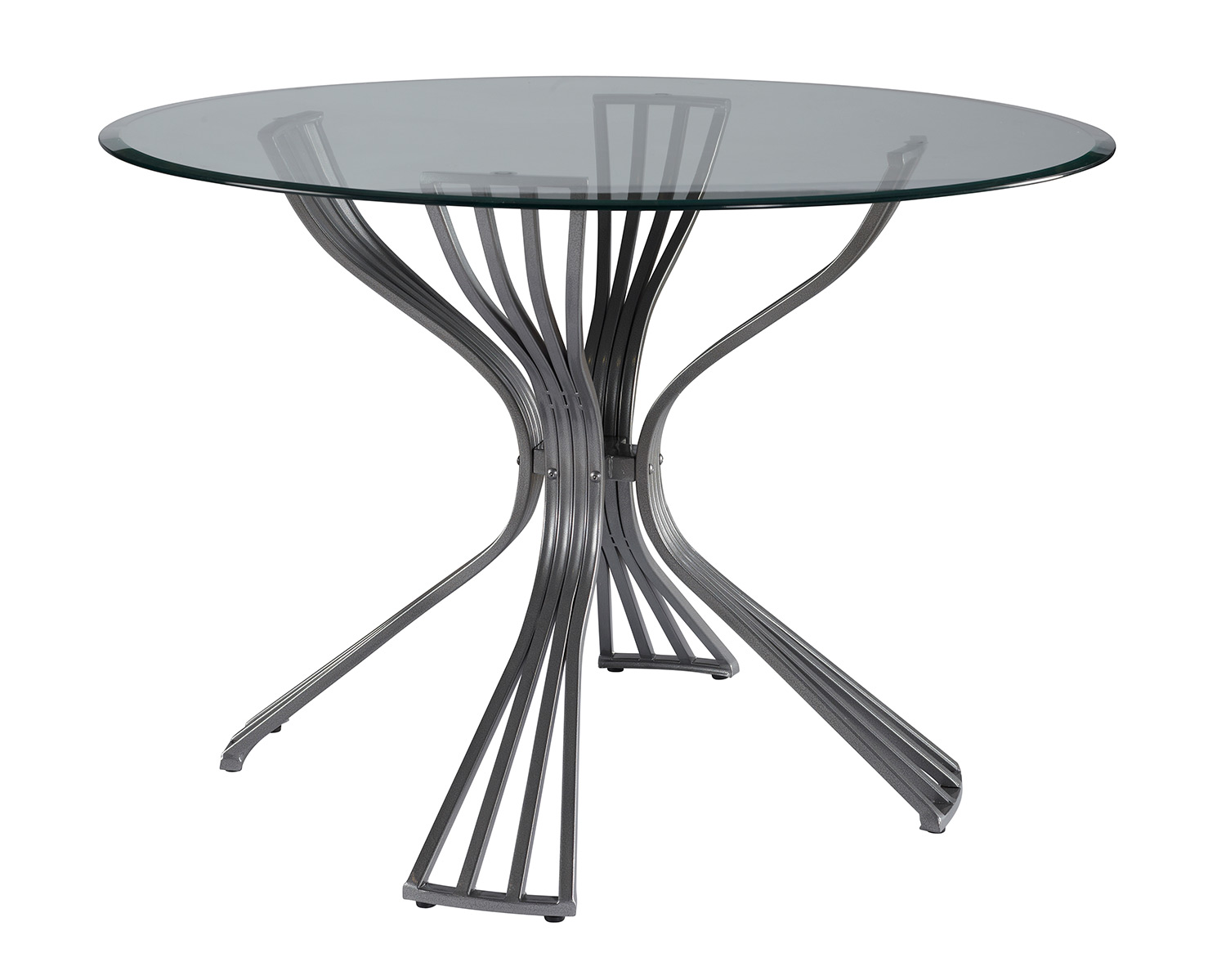 Powell Delgado Dining Table - Metal