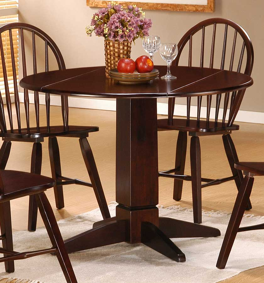 Photo of Powell Logan Double Drop Leaf Dining Table (Dining Room Furniture, Dining Room Set, Dining Tables, Dining Room Tables)