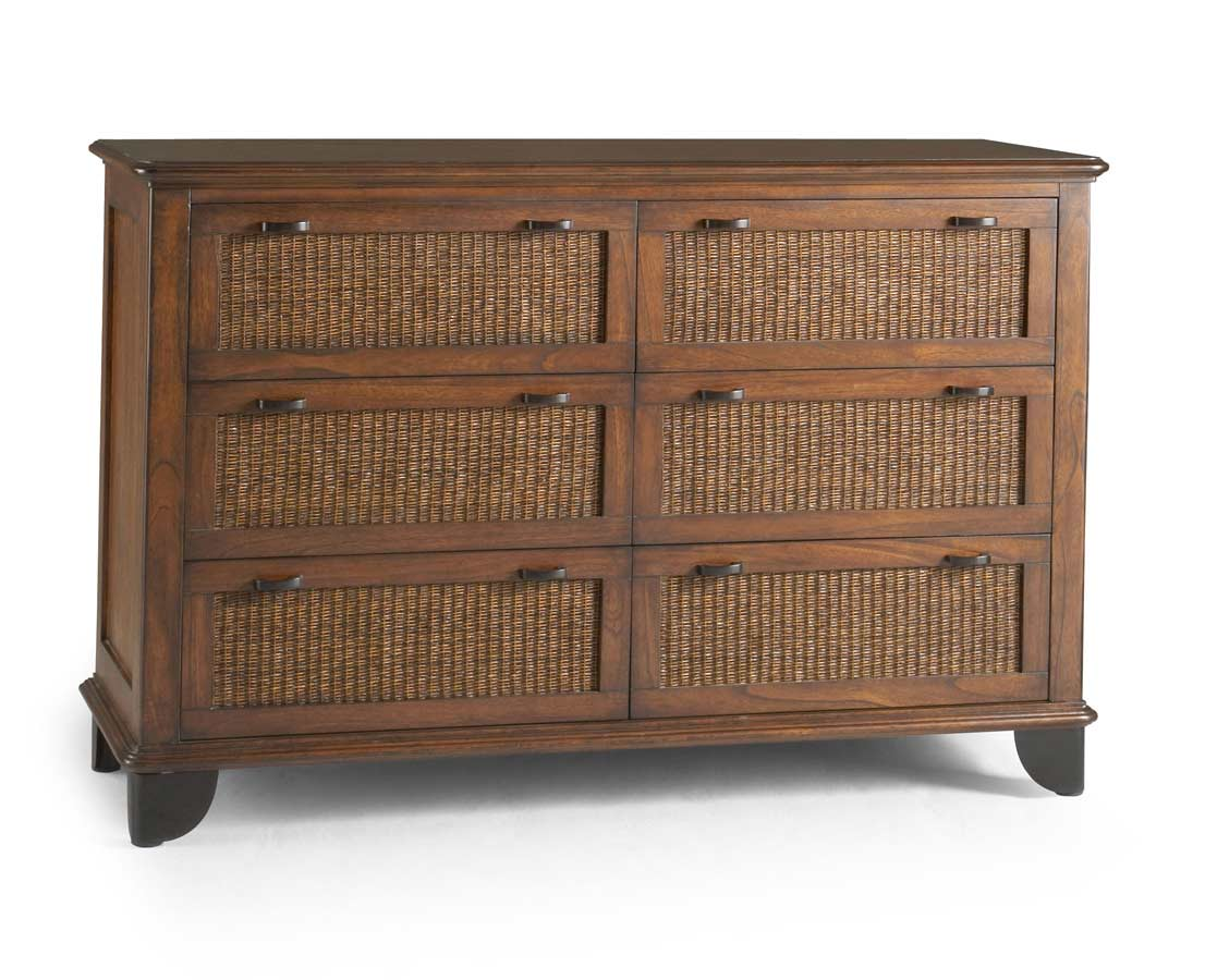 Powell Newport 6 Drawer Dresser