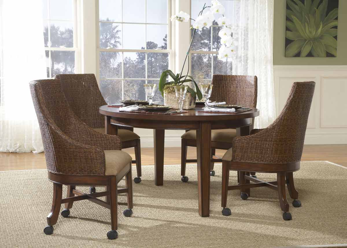 Powell Newport Round Dining Set