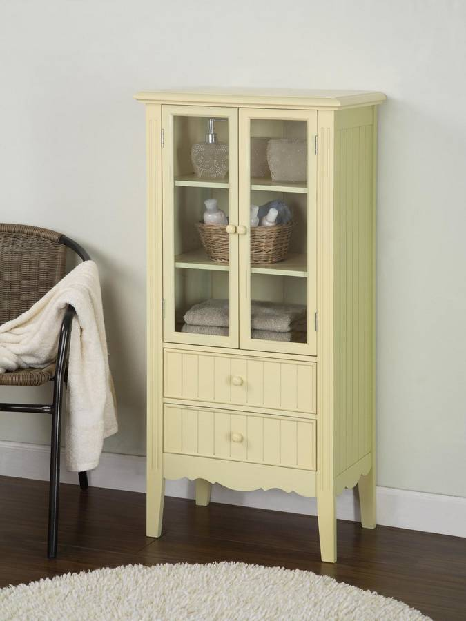 Powell Color Story Butter Yellow Bath Curio