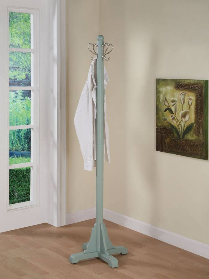 Cheap Powell Color Story Teal Coat Rack