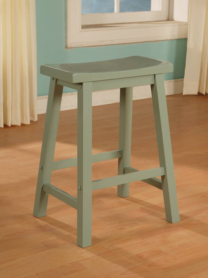 Cheap Powell Color Story Teal Counter Stool