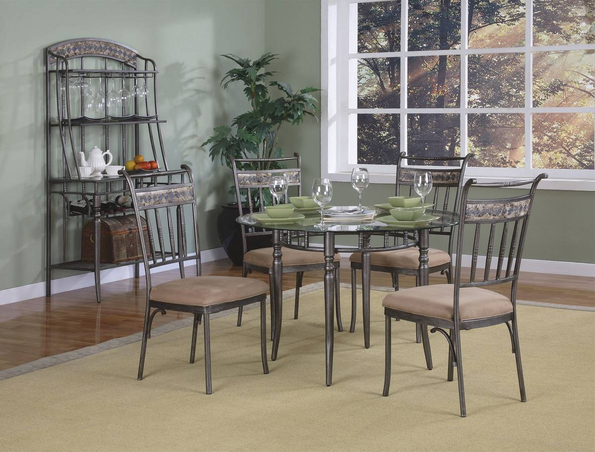 Powell Almond Dining Set