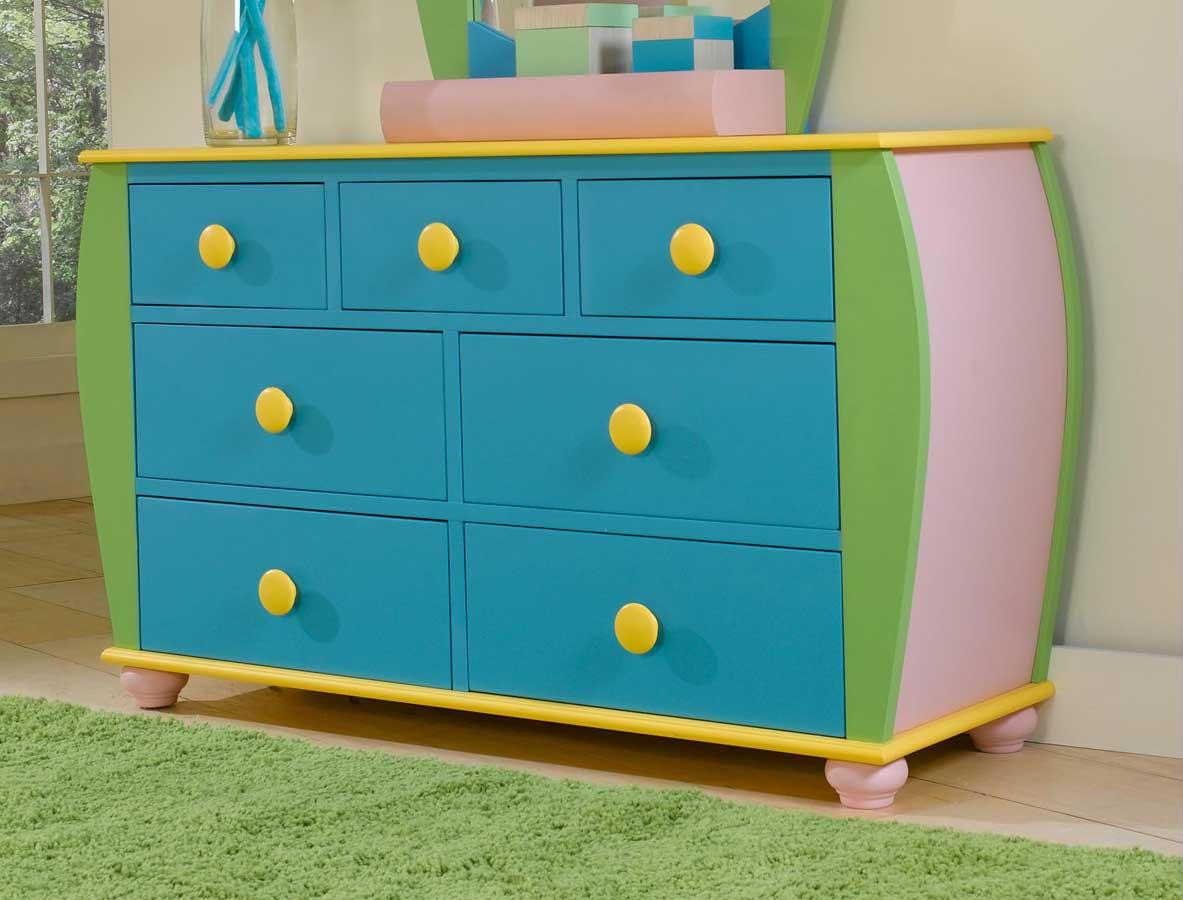 Powell Sunday Funnies 7-Drawer Dresser