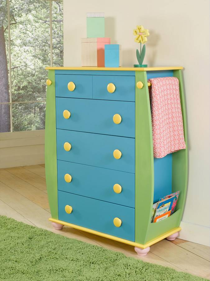 Powell Sunday Funnies 5-Drawer Chest