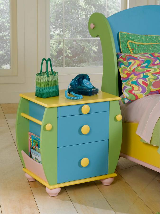 Powell Sunday Funnies Bedroom Set