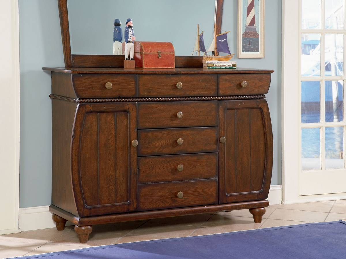 Cheap Powell Shiver Me Timbers 6-Drawer – 2-Door Dresser