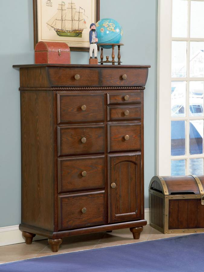 Cheap Powell Shiver Me Timbers 9-Drawer – 1-Door Chest