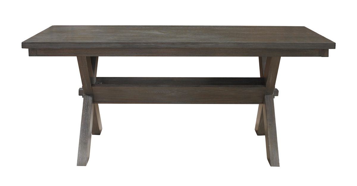 Powell Turino Rectangle Dining Table - Grey Oak